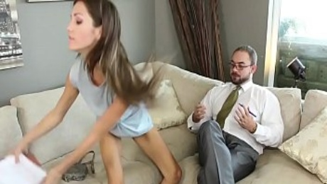 Renee Roulette Giving Head and Fucked