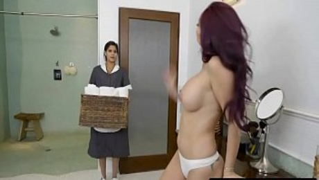 Married MILF Monique Alexander Cheating With ... Her Maid Katya Rodriguez