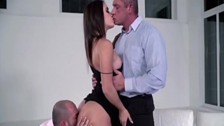 Lana's Debut Sex With Her Bosses