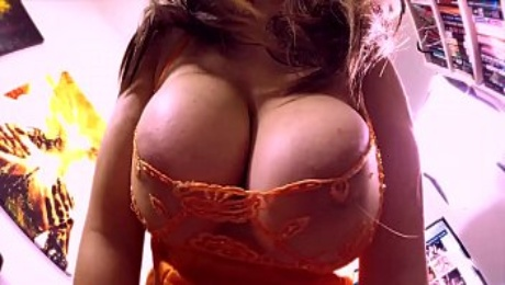 Double Titfucking. DD Sticky Tits! Two Cleavage Fucking Cumshots on Mom's Huge Natural Melons. Knockout Amateur Knockers fucked & jizzed on.