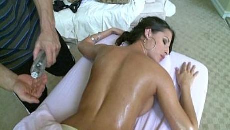 Hot Big Tit Massage